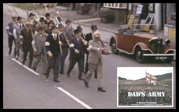THE SPARES GROUP - DAD's ARMY 1971 FILM VERSION