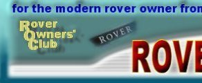 Rover Owners Club