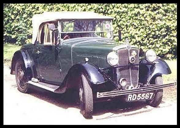 THE SPARES GROUP - 1934 MORRIS 10/4